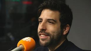 Yannick de Martino, en studio