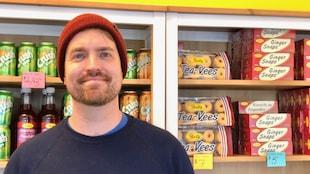 Le propriétaire de la boutique Newfoundland, Craig Pike.