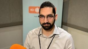 Ramzi Abdelmoula, spécialiste en reconnaissance vocale et intelligence artificielle chez General Motors Canada.