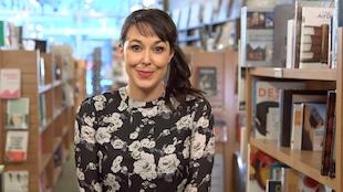 Claudia Larochelle anime le webmagazine Lire.