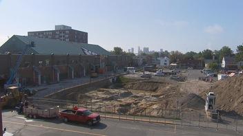 Le vaste chantier au centre-ville de Trois-Rivières prend de l'ampleur