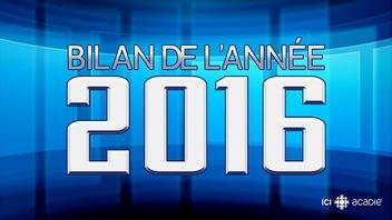 Bilan de l'année 2016