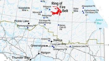 Une communauté autochtone veut signer une entente pour le Cercle de feu