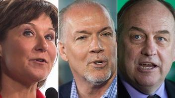 Dernier jour de campagne électorale en Colombie-Britannique