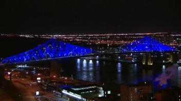 Montréal s'illumine