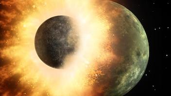 L'eau présente sur la Terre avant la formation de la Lune