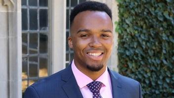 Nicholas Johnson, premier major de promotion noir à Princeton