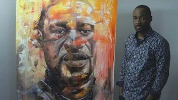 Un artiste immortalise George Floyd