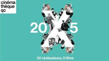 <em>20 x 5</em> à la Cinémathèque : à vos classiques