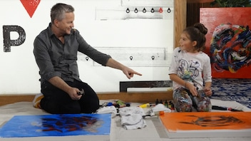 Mégane Fortin : 10 ans et artiste peintre