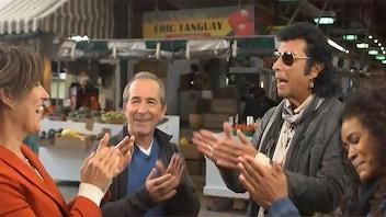 Quand le chanteur Andy&nbsp;Kim rencontre <em>L'épicerie</em> au marché&nbsp;Jean-Talon