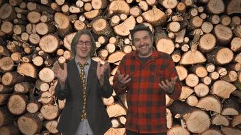MC Gilles est au Salon de la forêt