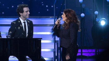 Isabelle Boulay chante pour Mika
