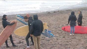 Les vents de la Péninsule acadienne font le bonheur de surfeurs