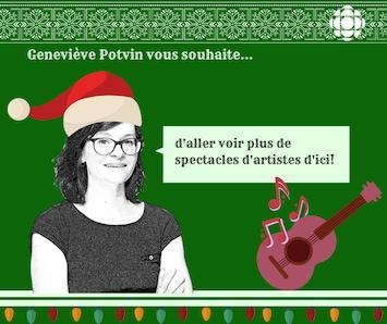 Carte de Geneviève Potvin