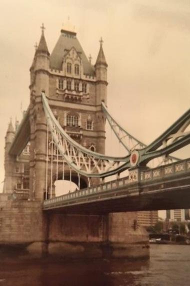 Le Tower bridge à Londres