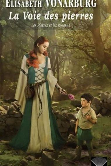 Une femme tend une fleur à un enfant
