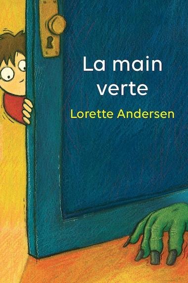 Page couverture du conte jeunesse <i>La main verte</i>