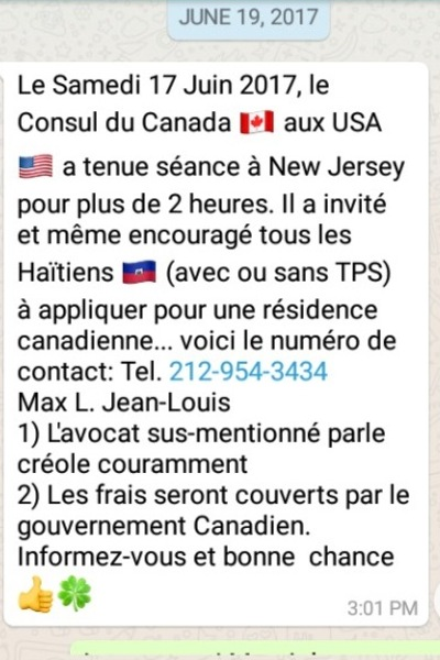 Rencontre par whatsapp