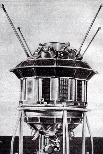 La sonde soviétique Lunik 3