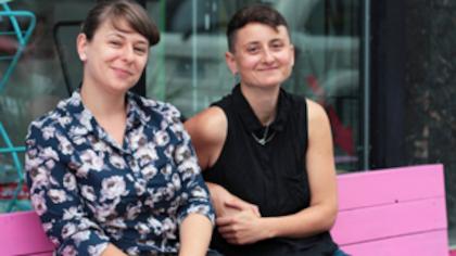 Portrait de la galerie d'art féministe La Centrale