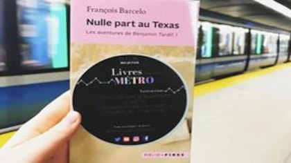 «Livres dans le métro», un mouvement littéraire qui transporte