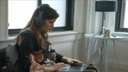 Un casque d'écoute qui favorise la concentration