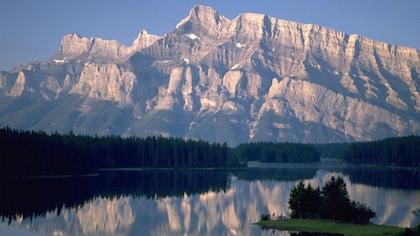 Le parc national de Banff, dans les Rocheuses