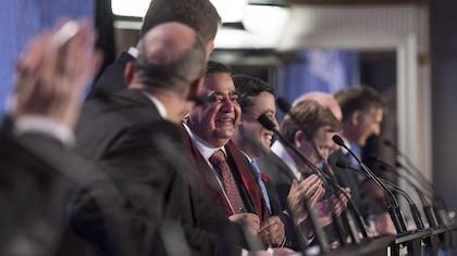 Premier test linguistique pour les aspirants-chefs du Parti conservateur