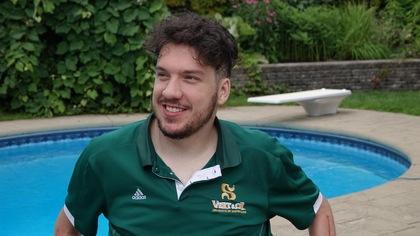 Quadriplégique après avoir sauté dans un lac, il raconte son histoire