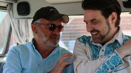 Michel Barrette et MC Gilles dans le cadre de l'émission Viens-tu faire un tour.