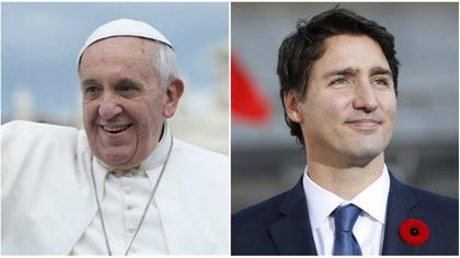 Ce qu'il faut savoir sur la rencontre entre le pape François et Justin Trudeau