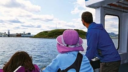 L'île Georges enfin ouverte au public
