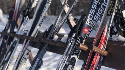 Une ruée vers les skis de fond