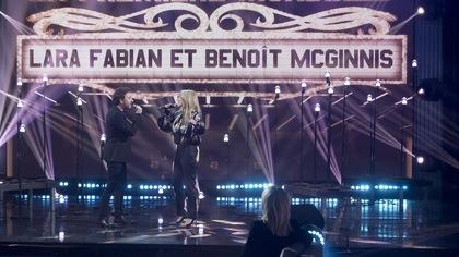 Le duo Benoit McGinnis et Lara Fabian