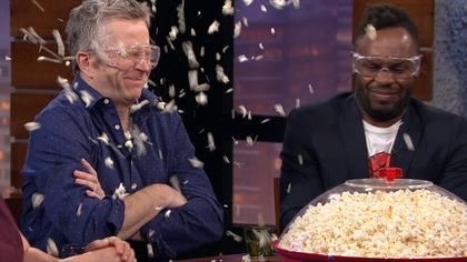 Maïs soufflé explosif