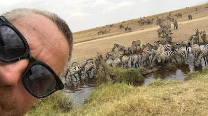 Le safari en Afrique d'André Robitaille