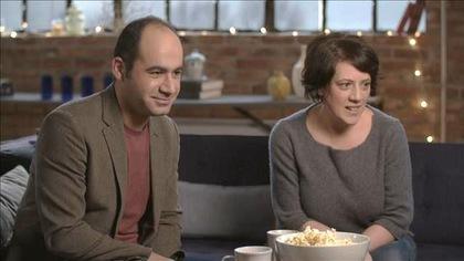 Le réalisateur Samer Najari et la coréalisatrice Dominique Chila
