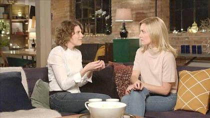 Hélène Florent et Evelyne Brochu