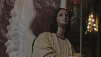 Statue d'un ange.