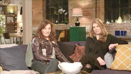 Macha Grenon et la réalisatrice Tara Johns