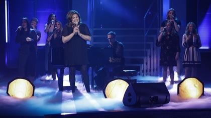 Marina Orsini chante pour Sylvain Cossette