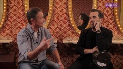 François Pérusse répond aux questions de Jean-Sébastien Girard