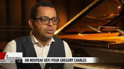 Un nouveau défi pour Gregory Charles