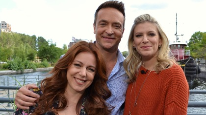 Isabelle Boulay, Mario Tessier et Anne-Marie Whithenshaw