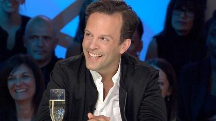 Marc Beaupré sur le plateau des Enfants de la télé.