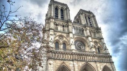 La cathédrale Notre-Dame de Paris.