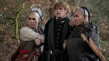 Jamie est inquiet, pris en otage par 2 personnes du peuple Cherokee.