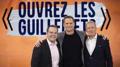 François Morency, Yvan Ponton et Michel Charette.