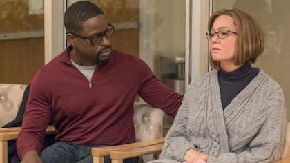 Randall et Rebecca sont dans une salle d'attente.